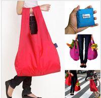 Wholesale foldable shopping bag fashion Eco friendly baggu shopping bag eco friendly reusable shopping bag folding storage bag grocery bags e167