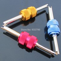 air conditioner van - New Car Van Motorcycle AC Air Conditioner a Tire Tyre Valve Stem Core Remover Installer Wrench Repair Tool Double End Sizes order lt no
