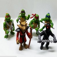 Wholesale 2016 Hot sale Teenage Mutant Ninja Turtles for TMNT Action Figures Toy Set Classic Collection