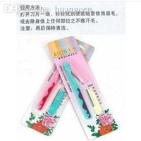 beauty products gifts - New supply practical scraping eyebrow knife The gift replaceable blade Beauty care products