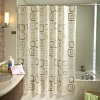 shower curtain - famous brand multi pattern bathroom shower curtain waterproof thickening cm