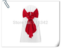Wholesale Factory Price Wedding Stain Chair Cover Sashes amp Chair Sash amp Bow Chair Sashes