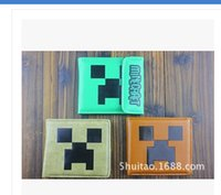Wholesale 3 styles New MINECRAFT CREEPER Creeper wallets Anime peripheral Wallet Desigual Wallets men s purse good quality G00469