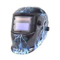Wholesale Pro Solar Auto Darkening Welding Helmet Arc Tig Mig Certified Mask Grinding Free Shippng