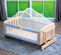 Wholesale Baby cradle crib arch mosquito net