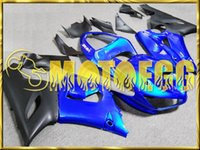 Wholesale Five Gifts Motoegg kawasaki zx12r fairings Fairings Body Work For Kawasaki Ninja ZX R ZX R ZX6R Blue K65M26