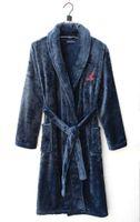 animal fertilizer - Z059 Men s winter fertilizer plus size flannel pajamas nightgown bathrobe colour robes