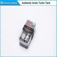 Le réservoir de la couronne de 100% Horizon d'origine Arctic Turbo Turbo réservoir RDA Vaporisateur 3.5ml Arctique Turbo Sous Ohm réservoir VS SMOK TFV4 mini-chaud 010140