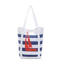 cheap branded bags - Cheap Canvas Handbags Striped Printing Tote Women Designer Shopper Bags Brand Designer Big Purses Ladies Bohemian Hand Bags
