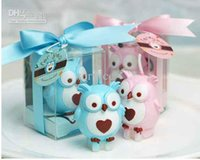 Wholesale 10pcs Personality Gifts As Wise As Owl Desgin Sweet Candle Gift