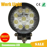 Wholesale 4 quot Inch LED Work Light Offroad Lamp W V V Round Square Waterproof Flood Spot Beam LED Light Bar For Jeep SUV Truck