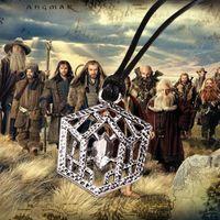 belt buckle necklace - Movie The Hobbit Thorin Belt Buckle Necklace And Galadriel Flower Necklace Men Women Fashion Unique Jewelry