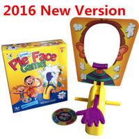 Wholesale 2016 New Version Running Man Pie Face Game Family Parent Child Party Novelty Toy Whipped Cream Board Game Fun Prank Funny Gadget