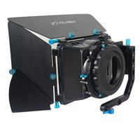 Wholesale YELANGU Professional DSLR Cameras Matte Box With Removable Aluminum Three blade Four Rubber Gaskets For Wide angle Lens