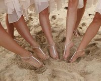 Wholesale 12pcs Crystals Beach Barefoot Sandals Beach Wedding Accessories Body Jewelry Anklet Bridesmaids Bridal Jewelry