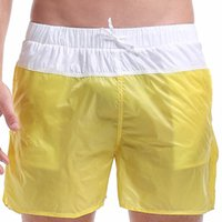 beach volleyball shorts - men summer colors anti UV light beach shorts man breathable quick drying surfing swimwears men s volleyball sports