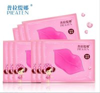 Wholesale PILATEN Crystal Collagen Lip Mask Collagen Protein Crystal Women Replenishment Lip Film Lip color anti cracking