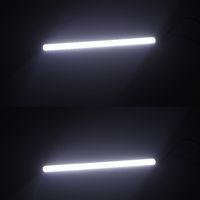 Wholesale Universal cm W COB Car LED DRL Daytime Running Fog Lamp Light Bulb Lighting source Bar White V