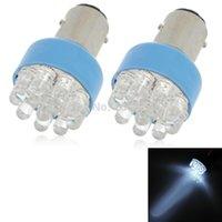 Wholesale S25 W lm K LED White Light Motorcycle Brake Lamp V