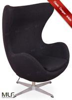 egg chair - MLF Arne Jacobsen Egg Chair Premium Cashmere Hand Sewing Adjustable Tilt High Density Foam Swivel