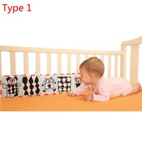 Wholesale Hot Sale Double Side Pram Bumper Panel baby toys cloth book knowledge around Kids Educational Toy