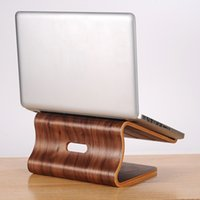 apple computer books - Wooden Stand Mobile Holder for Apple Macbook Air Pro Retina Wood Computer Notebook Radiator Bracket for Mac Book