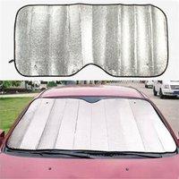 Wholesale Window Foils Block Front Sunshade UV Protect Car Windshield Visor Cover Film Windshield Vehicle Supplies cm