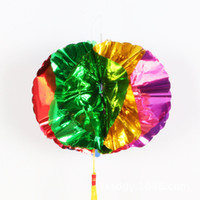 annual ornaments - New ball necessities Annual Christmas party celebrations arranged lob color bar tops