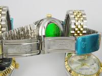 Wholesale Men Full Steel Watch Quartz businessmen brand Calendar men s watch full steel luxury watches Women rhinestone dress watch