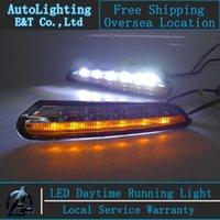 Cheap Auto Lighting Style LED Daytime Running Light for Opel Mokka LED DRL 2014 signal led daytime driving fog lamp 0.5W good LED