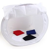 Wholesale New Photo Soft Box Llight Tent Cube Softbox With Backdrops For Camera x50cm