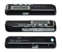 Wholesale 1Set GB USB VOR Rechargeable Digital Audio Voice Recorder Hr Dictaphone MP3 Player Black