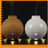 Wholesale 600mL Ultrasonic Air Humidifier Atomizing Anion Electric Aroma Diffuser Aromatherapy Air Humidifier Mist Maker for Home