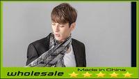 Wholesale 2014 New Fashion Winter Scarf Men Fashion England Desigual Scarves Plaid Thick Scarves Shawl for Men
