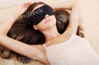 Wholesale 3D Sponge Eye MASK Sleep Rest Travel Masks Blindfold Shade Eyeshade Sleeping Health Care Shield Light Portable Free DHL Factory Direct