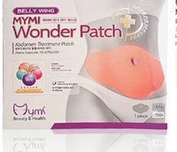 Wholesale HOT MYMI Wonder Slim patch slimming belly lose weight Abdomen fat burning patch box