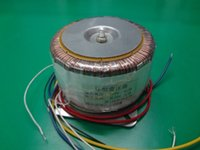 Wholesale Copper transformer W stereo amplifier cattle ring toroidal transformer output pairs volt dual volt single V