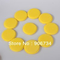 Wholesale Car Cleaning Vehicle Glass Polish Wax Foam Sponge Applicator Pads New Arrival