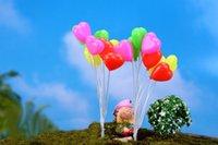 balloon dolls - sale set mini balloon doll house miniatures lovely cute fairy garden gnome moss terrarium decor crafts bonsai DIY c075