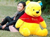 Wholesale Fancytrader New Arrival cm Big Huge Giant Plush Stuffed Winnie the Pooh FT90068