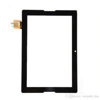 Tablet original pantalla táctil de 10,1 pulgadas Lenovo reemplazo de la reparación A7600 Parte Lente Cristal Negro