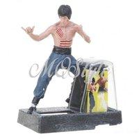 Wholesale Solar Powered Bruce Lee Action Display Figure K4405