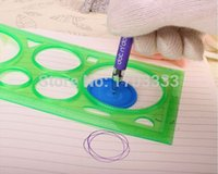 drawing ruler - Spiral Art Tool Spirograph Ruler Great Funny Gift Creative Drawing Set ruler GY53
