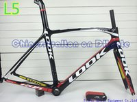 Wholesale 2014 look L5 carbon road bike frame bicycle frameset full carbon fiber frame cycling frame look carbon stem sell look colnago C60