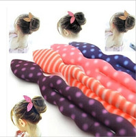 bunny jewelry - New Hair Jewelry Sponge Bunny Ears Sponge Hair Stick Twist Hair tool Ring Ball Head Bud wig Lace Curly Hair Accessories mix color