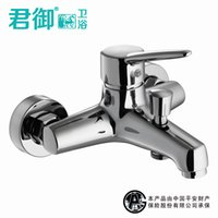 bathtub shower plumbing - All copper plumbing hardware factory triple bathroom shower faucet shower faucet bathtub faucet Hess