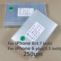 Wholesale OCA Optical Clear Adhesive For iPhone Plus s Plus Double Side Sticker Glue for Mitsubishi um thick