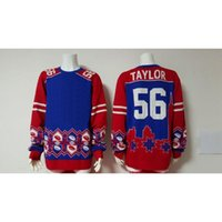 Wholesale Lawrence Taylor Football Sweater Winter Sweater Thematic Ugly Sweater O Neck Long Sleeve Sweater Wool Warm Pullovers Sweater for Sale