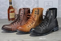 Cheap MCM shoes Martin boots boots male special combat boots boots in British men's leather boots shoes