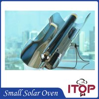 Wholesale 2016 New Solar Oven Green BBQ Grill Barbecue Stove Folding Camping Picnic Heater Kebab Roast